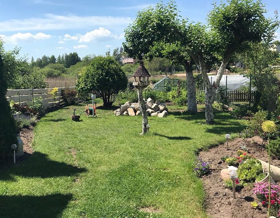 Ogród dostępny dla gości